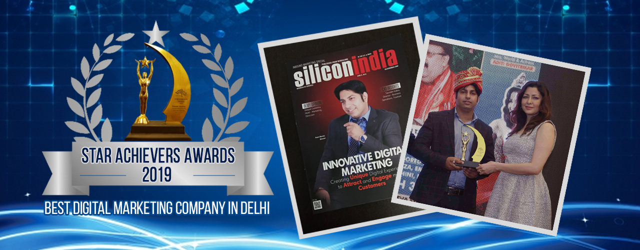 awards winning digital marketing in west delhi