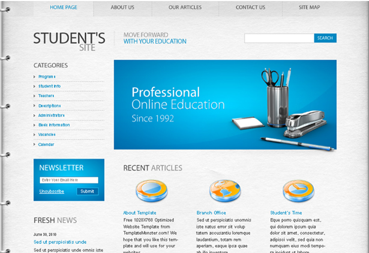 web page templates free download in php gallery - templates design, Powerpoint templates