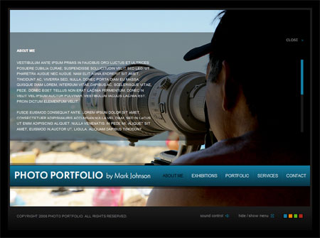 Website Templates For Photographers. 33 photography joomla themes ...